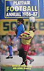 Playfair football annual 1986-87