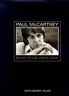 Many Years from Now by Paul McCartney