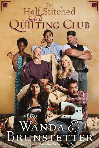 The Half-Stitched Amish Quilting Club by Wanda E. Brunstetter