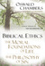 Biblical Ethics / The Moral Foundations of Life / The Philosophy of Sin: Ethical Principles for the Christian Life