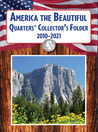 America the Beautiful Quarters Collector's Folder 2010-2021