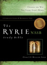 The Ryrie Study Bible: -NASB