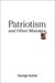 Patriotism and Other Mistakes by George Kateb