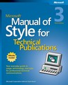 Manual of Style for Technical Publications