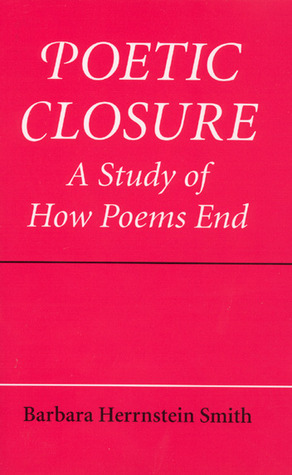 Poetic Closure by Barbara Herrnstein Smith