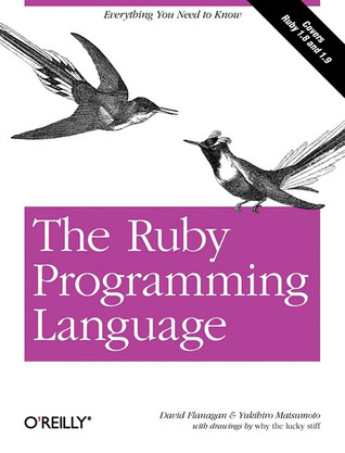 The Ruby Programming Language by David Flanagan