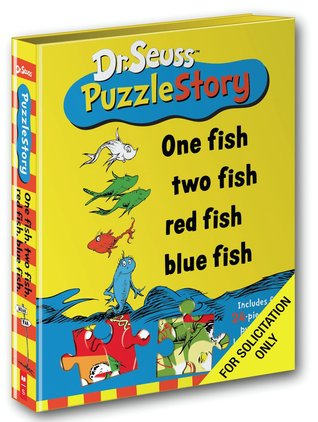 One fish two fish red fish blue fish by dr seuss for Blue fish book