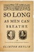 So Long as Men Can Breathe: The Untold Story of Shakespeare's Sonnets
