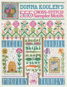 Donna Kooler's 555 Cross-Stitch Sampler Motifs