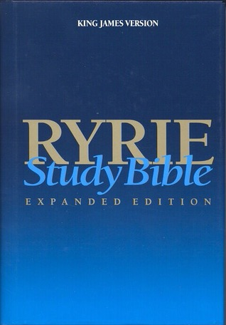 Ryrie study bible on
