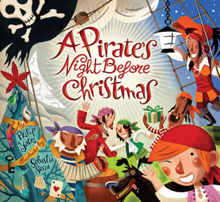 A Pirate's Night Before Christmas by Philip Yates