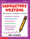 Expository Writing: Mini-Lessons * Strategies * Activities