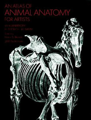 An Atlas of Animal Anatomy for Artists by W. Ellenberger
