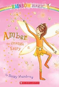 Amber The Orange Fairy by Daisy Meadows