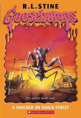 A Shocker on Shock Street by R.L. Stine