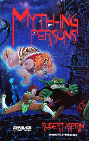 Myth-ing Persons (Myth Adventures, #5) (New Audible Release) - Robert Asprin