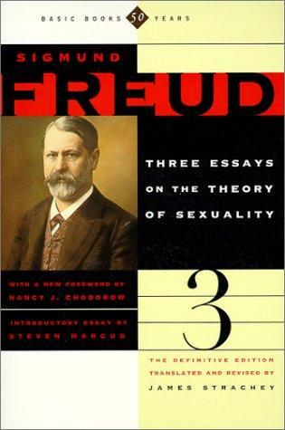 Three Essays on the Theory of Sexuality by Sigmund Freud — Reviews ...
