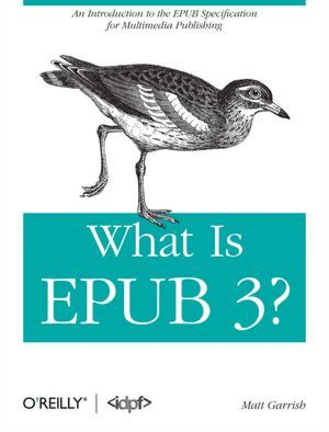 What is EPUB 3? by Matt Garrish