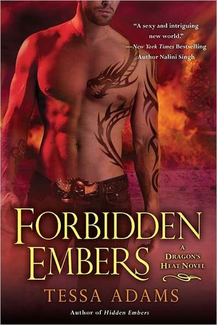 Forbidden Embers (Dragon's Heat, #3)