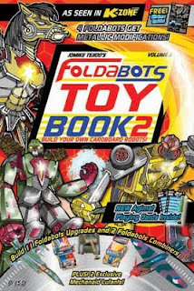 Foldabots Toy Book by Jomike Tejido