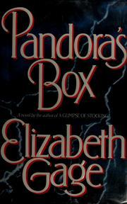 Pandora's Box by Elizabeth Gage