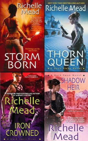 Dark Swan Bundle: Storm Born, Thorn Queen, Iron Crowned & Shadow Heir