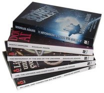 The Hitchhiker's Guide to the Galaxy 5 Book Set (Hitchhiker's Guide, #1-5)