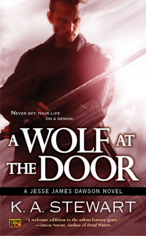 A Wolf at the Door by K.A. Stewart