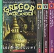 Gregor the Overlander Box Set (Underland Chronicles, #1-4)