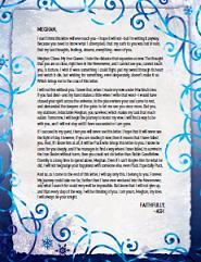 Ash's Letter to Meghan The Iron Fey Julie Kagawa epub download and pdf download