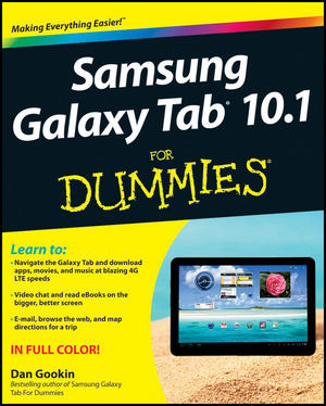 Samsung Galaxy Tab® 10.1 For Dummies