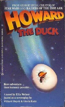 Howard The Duck by Ellis Weiner
