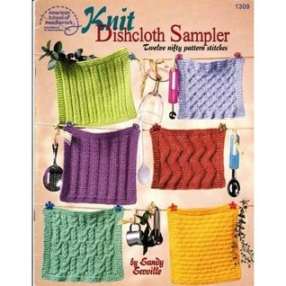 Knit Dishcloth Sampler by Sandy Scoville