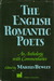 The English Romantic Poets: An Anthology With Commentaries