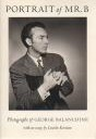 Portrait of Mr. B: Photographs of George Balanchine