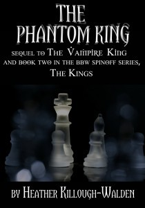 The Phantom King (The Kings, #2)  - Heather Killough-Walden