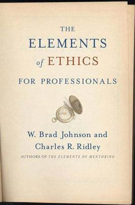 Elements of Professional Ethics
