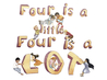 Four is a little, Four is a LOT by Cheska Komissar