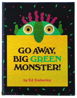 Luscious image regarding go away big green monster printable book