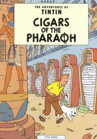 Cigars of the Pharaoh by Hergé