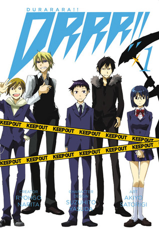 Manga Review: Durarara!! Volume 1