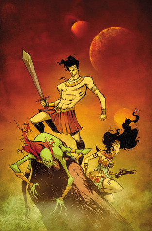 John Carter by Roger Langridge