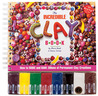 The Incredible Clay Book [Includes 8 Clay Colors] (Klutz)
