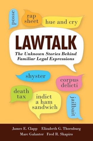 Lawtalk by James E. Clapp