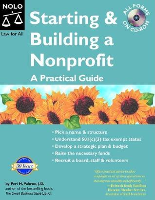 Starting & Building A Nonprofit by Peri Pakroo