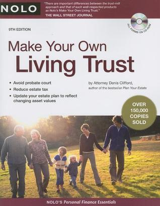 Make Your Own Living Trust [With CDROM] by Denis Clifford