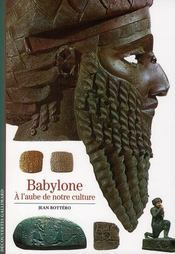 Babylone  by Jean Bottéro