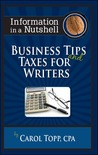 Business Tips and Taxes for Writers