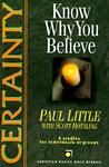Certainty: Know Why You Believe (Christian Basics Bible Studies)