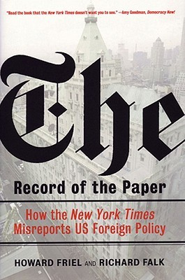 The Record of the Paper by Howard Friel
